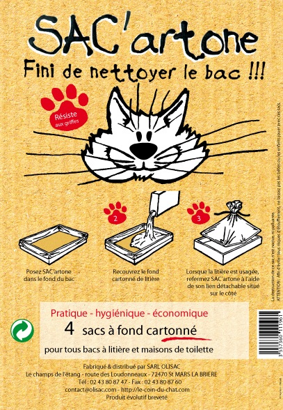 Le coin du chat, article SAC'artone