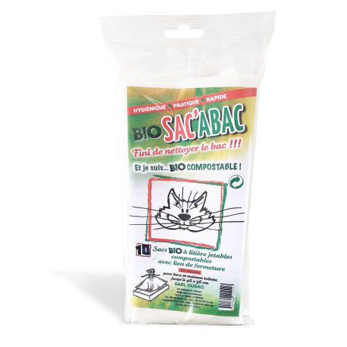 Sac de litière pour chat biodégradable
